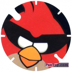 PaxToy.com - 01 Red Bird - Ca-Chaw из Cheetos: Angry Birds Space Tazo