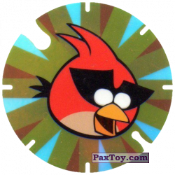 PaxToy.com - 18 Red Bird Space из Cheetos: Angry Birds Space Tazo