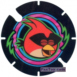 PaxToy.com - 20 Red Bird Space из Cheetos: Angry Birds Space Tazo