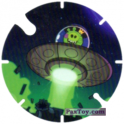 PaxToy.com - 21 UFO Pig из Cheetos: Angry Birds Space Tazo