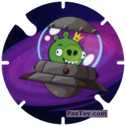PaxToy.com - 23 UFO Pig King из Cheetos: Angry Birds Space Tazo