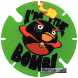 PaxToy.com - 25 I'm The Bobm из Cheetos: Angry Birds Space Tazo