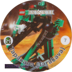 PaxToy.com - 007 Таракава (Tarakava) из Cheetos: Bionicle 2001