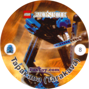 PaxToy.com - 008 Таракава (Tarakava) из Cheetos: Bionicle 2001