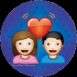 PaxToy.com - Emoji / Эмодзи - 01 Влюбленная парочка из Cheetos: Найди 90 Эмодзи! (Emoji)