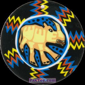 PaxToy.com - 02 Амулет Носорог из Cheetos: Africana / Читос Африкана (Тазо-Амулет)