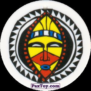 PaxToy.com - 03 Амулет Маска из Cheetos: Africana / Читос Африкана (Тазо-Амулет)