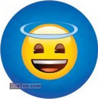 Emoji / Эмодзи - 03 Смайлик Ангелочек