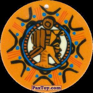 PaxToy.com - 04 Амулет Африканец из Cheetos: Africana / Читос Африкана (Тазо-Амулет)