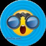 PaxToy.com - Emoji / Эмодзи - 04 Смайлик Удивлен увиденным в бинокль из Cheetos: Найди 90 Эмодзи! (Emoji)