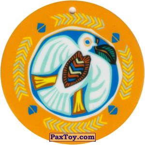 PaxToy.com - 05 Амулет Голубь из Cheetos: Africana / Читос Африкана (Тазо-Амулет)