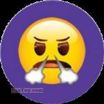 PaxToy.com - Emoji / Эмодзи - 05 Смайлик возмущен, пар из носа из Cheetos: Найди 90 Эмодзи! (Emoji)