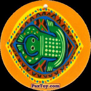 PaxToy.com - 06 Амулет Лягушка из Cheetos: Africana / Читос Африкана (Тазо-Амулет)