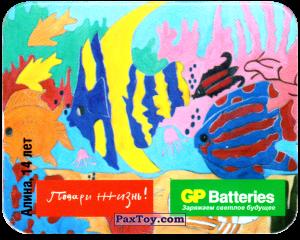 PaxToy.com - 06 Морские рыбки - Алина, 14 Лет из GP Batteries: Магниты - Подари Жизнь!