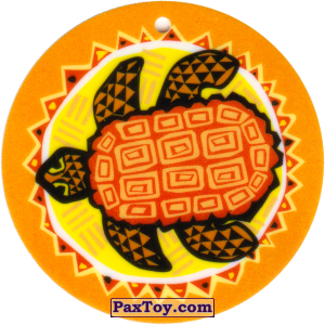 PaxToy.com - 09 Амулет Черепаха из Cheetos: Africana / Читос Африкана (Тазо-Амулет)