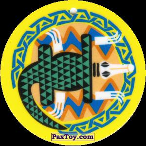 PaxToy.com - 10 Амулет Крокодил из Cheetos: Africana / Читос Африкана (Тазо-Амулет)