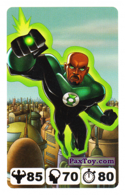 10 Green Lantern John Stewart - Nestle Justice League