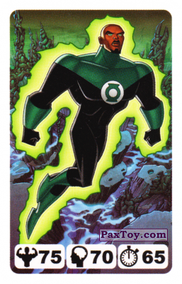 12 Green Lantern John Stewart - Nestle Justice League