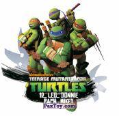 PaxToy.com - 12_LEO_DONNIE_RAPH_MIKEY из Chipicao: Teenage Mutant Ninja Turtles