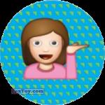 PaxToy.com - Emoji / Эмодзи - 13 Девочка опля из Cheetos: Найди 90 Эмодзи! (Emoji)