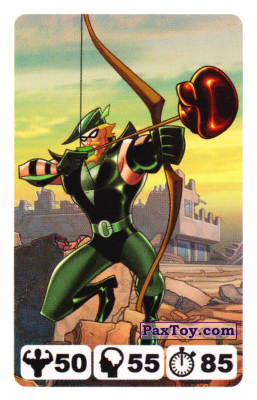 14 Green Arrow - Nestle Justice League
