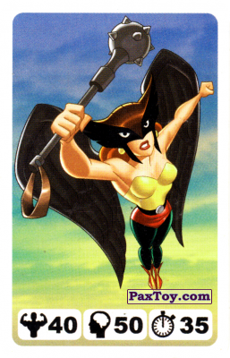 15 Hawkgirl - Nestle Justice League