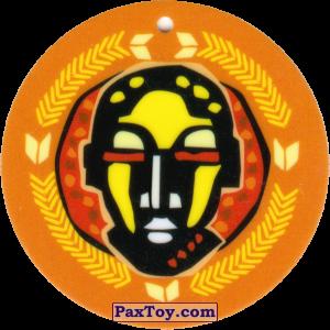 PaxToy.com - 16 Амулет Африканец из Cheetos: Africana / Читос Африкана (Тазо-Амулет)