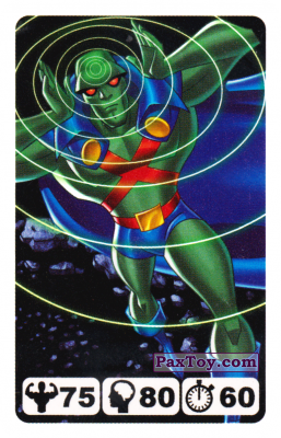 16 Martian Manhunter - Nestle Justice League