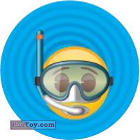 Emoji / Эмодзи - 16 Смайлик водолаз