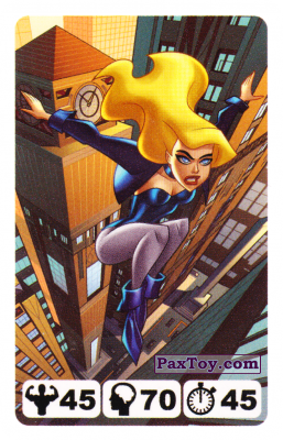 17 Black Canary - Nestle Justice League