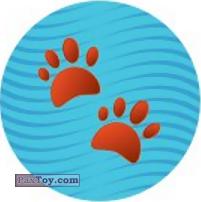 Emoji / Эмодзи - 19 Следы Животного