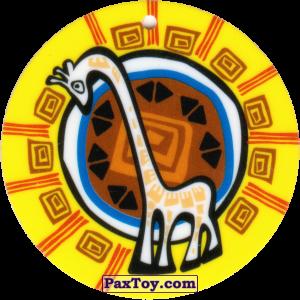 PaxToy.com - 21 Амулет Жираф из Cheetos: Africana / Читос Африкана (Тазо-Амулет)
