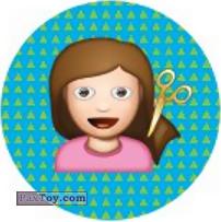 Emoji / Эмодзи - 21 Много волос