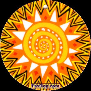 PaxToy.com - 23 Амулет Солнце из Cheetos: Africana / Читос Африкана (Тазо-Амулет)