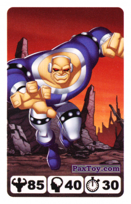 PaxToy.com - 23 Mongul - Nestle Justice League из Nesquik: Карточки Лига Справедливости от Несквик