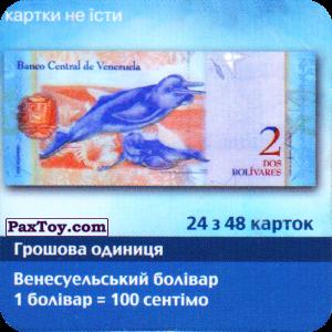 PaxToy.com - 24 з 48 Венесуела - Венесуельський болівар (Сторна-back) из Три корочки: Справжні гроші у пачках