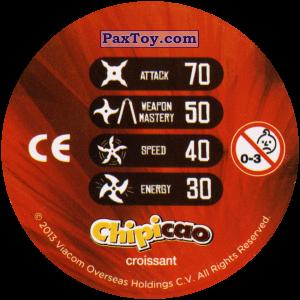 PaxToy.com - Фишка / POG / CAP / Tazo 26_RAPH (Сторна-back) из Chipicao: Teenage Mutant Ninja Turtles