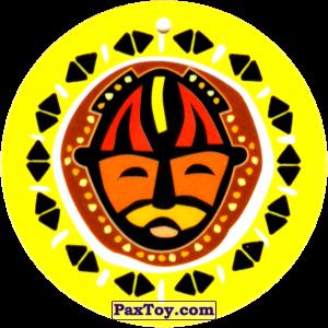 PaxToy.com - 27 Амулет Маска из Cheetos: Africana / Читос Африкана (Тазо-Амулет)