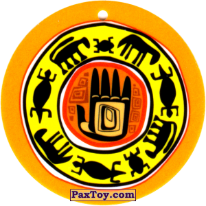 PaxToy.com - 29 Амулет Ладонь из Cheetos: Africana / Читос Африкана (Тазо-Амулет)
