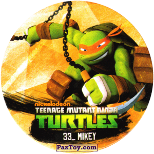 PaxToy.com - 33_MIKEY из Chipicao: Teenage Mutant Ninja Turtles