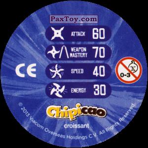 PaxToy.com - Фишка / POG / CAP / Tazo 41_DONNIE (Сторна-back) из Chipicao: Teenage Mutant Ninja Turtles