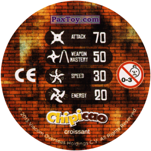 PaxToy.com - 45_FOOT CLAN (Сторна-back) из Chipicao: Teenage Mutant Ninja Turtles