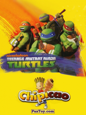 PaxToy Chipicao: Teenage Mutant Ninja Turtles