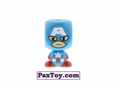 PaxToy.com - 01 CAPTAIN AMERICA из Varus: MARVEL Mania (Blokhedz)