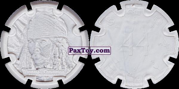 PaxToy.com - 01 Jack Sparrow - Пиратский дублон (Сторна-back) из Estrella: Пираты Карибского моря: Сундук мертвеца