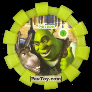 PaxToy.com - 01 Шрек и Осел (Резиновый бампер) из Cheetos: Shrek (Blaster)