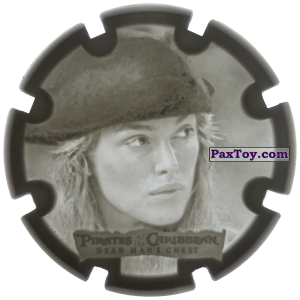 PaxToy.com - 02 Elizabeth Swann - Пиратский дублон из Estrella: Пираты Карибского моря: Сундук мертвеца