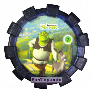 PaxToy.com - 02 Шрек и Осел (Резиновый бампер) из Cheetos: Shrek (Blaster)