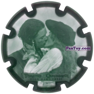 PaxToy.com - 03 William Turner & Elizabeth Swann - Пиратский дублон из Estrella: Пираты Карибского моря: Сундук мертвеца