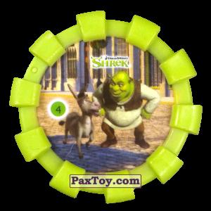 PaxToy.com - 04 Шрек и Осел (Резиновый бампер) из Cheetos: Shrek (Blaster)